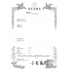 Japan Design Patent Registration Application