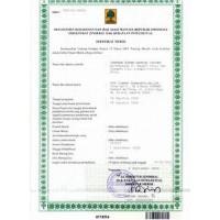 Indonesia Trademark Registration Application