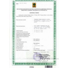 Indonesia Trademark Registration Application