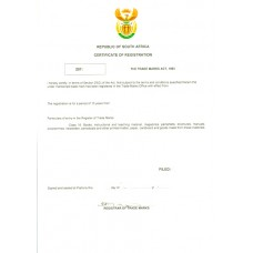 South Africa Trademark Registration Application